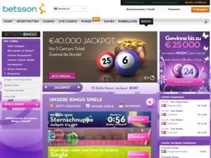 Betsson Bingo Vorschau