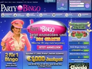 Party Bingo Vorschau