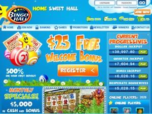 Bingo Hall Screenshot